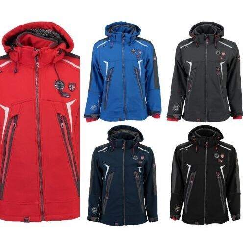 softshell tonic męski, Geographical norway
