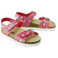 DR. BRINKMANN 510331-43 pink, sandały profilaktyczne dziecięce, rozmiary 32-35