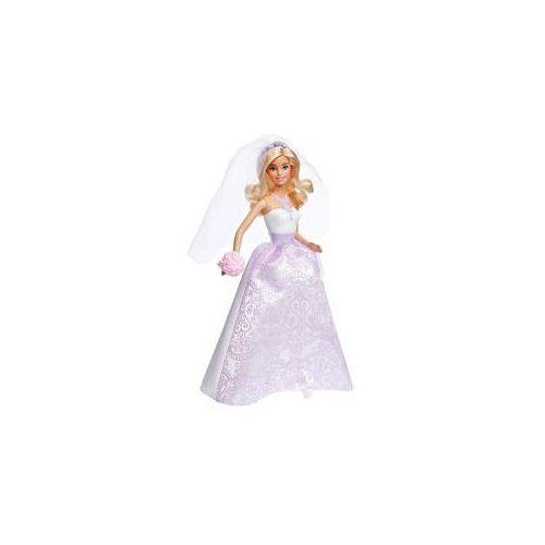 Barbie Fioletowa Panna Młoda Mattel
