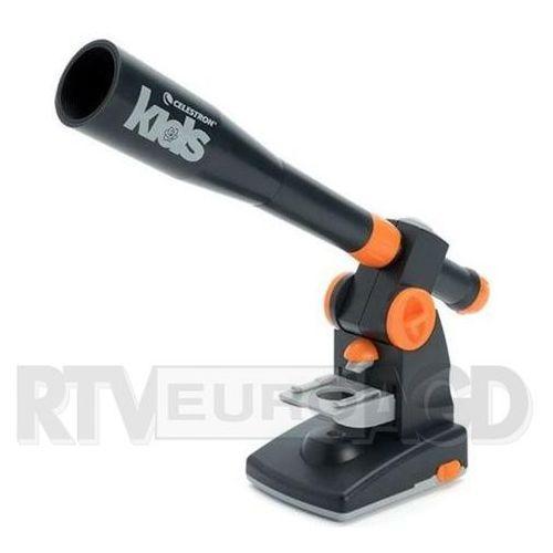 Celestron Mikroskop z teleskopem zestaw dziecięcy microscope kids