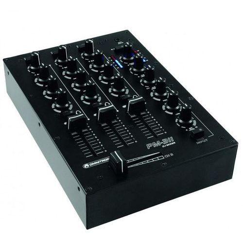 Omnitronic PM-311 P 3-kanalowy mikxer USB MP3 - produkt z kategorii- Zestawy i sprzęt DJ