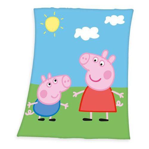 Koc dziecięcy Świnka Peppa, 130 x 160 cm, 230020
