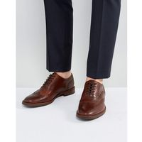 bartolello leather brogue shoes in tan - tan, Aldo