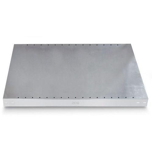 Gebrüder schulte Dodatkowa półka ocynkowana, wys. krawędzi 40 mm, opak.: 2 szt., szer. x głęb. 10