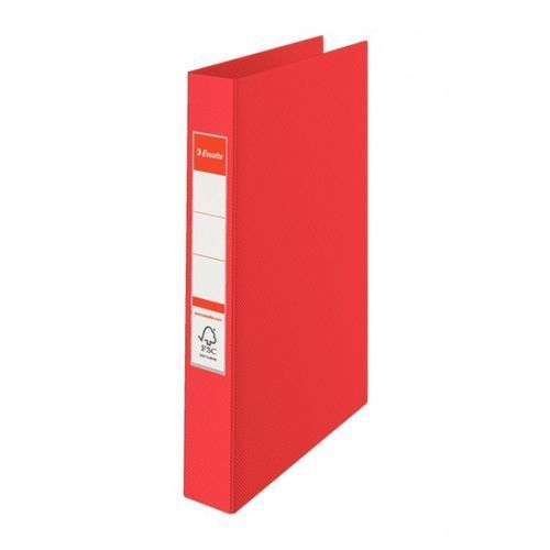 Segregator ringowy a4, 4 ringi, czerwony - rabaty - porady - hurt - negocjacja cen - autoryzowana dystrybucja - szybka dostawa marki Esselte