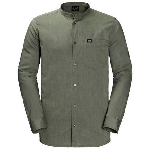 Koszula INDIAN SPRINGS SHIRT MEN - woodland green stripes, kolor zielony