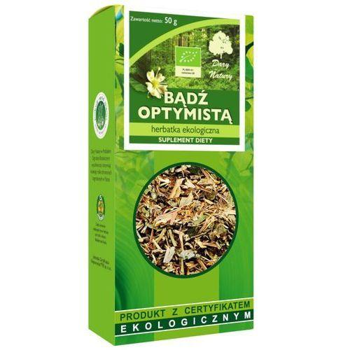 Dary natury - herbatki bio Herbatka bądź optymistą bio 50 g - dary natury (5902581618320)