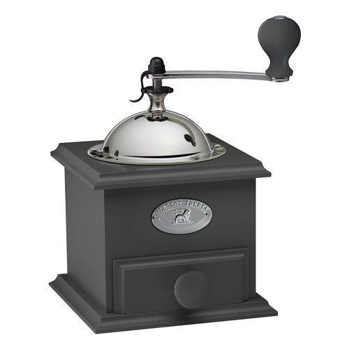 Młynek manualny do kawy drewno bukowe Cottage Peugeot ciemno-szary PG-31169 (4006950031169)