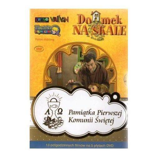 Praca zbiorowa Domek na skale - album 5 płyt dvd. zestaw komunijny