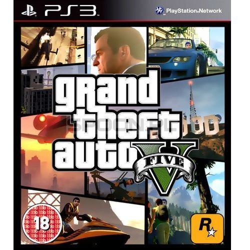 GTA 5, gra na PS3