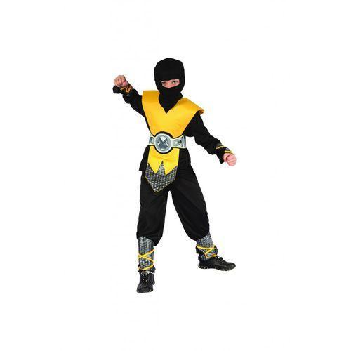 Godan Strój żółty ninja lux 110-120cm (5901238671541)