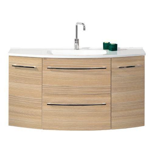 Szafka sosnowa z umywalką 120 cm LANZET S2.1 - sosna \ 120 cm \ Clou-system