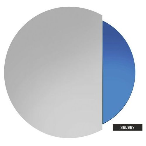 SELSEY Lustro Eclipse niebieskie (5900000075910)