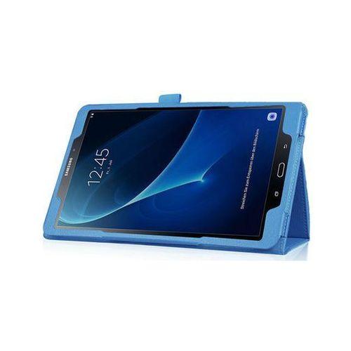 Etui stojak Samsung Galaxy Tab A 10.1'' niebieskie +klawiatura - Niebieski, kolor niebieski