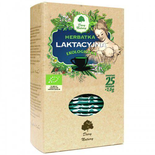 Herbatka laktacyjna bio (25 x 2 g) - dary natury marki Dary natury - herbatki bio