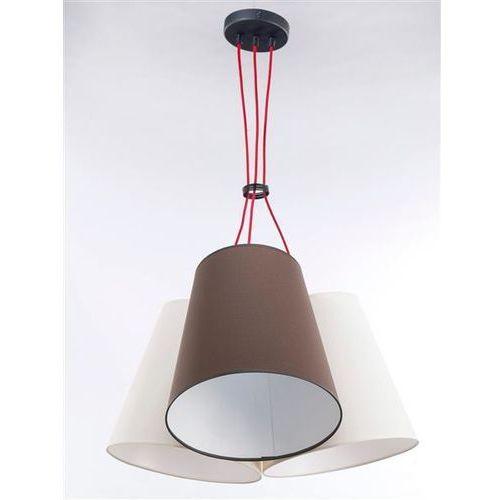 Namat Lampa wisząca necar 3 3218 - jasny beż/brąz