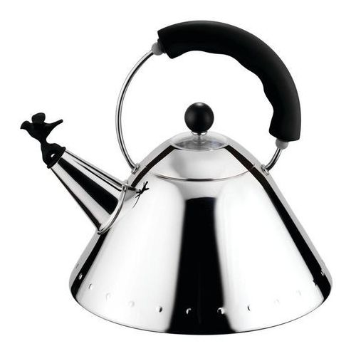 Alessi Czajnik 9093 czarna rączka (8003299939404)