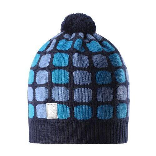 Czapka zimowa  kivikko niebieski wzór marki Reima