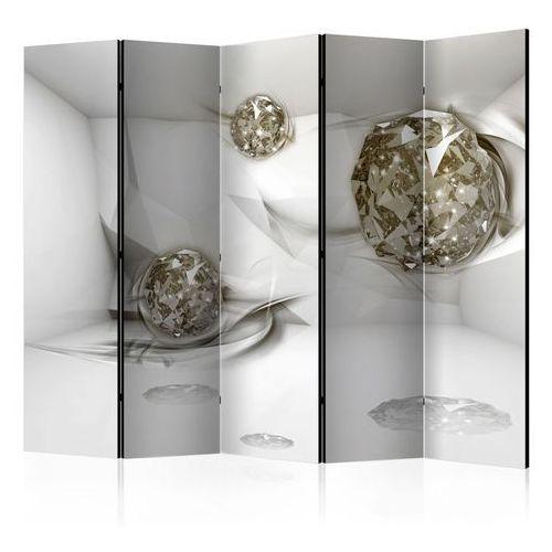 Parawan 5-częściowy - abstrakcyjne diamenty ii [room dividers] marki Artgeist
