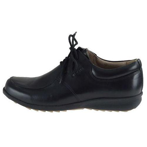 Półbuty Lesta 3825 - Czarne, kolor czarny