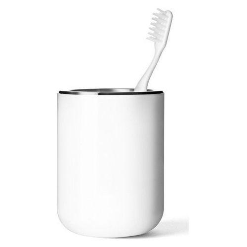 Menu - pojemnik na szczoteczki do zębów - biały - biały