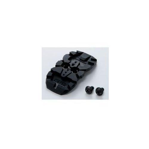 ESMSHMT33CC Osłona bloku/ zaślepka plus nakrętki bloków do butów Shimano SPD - para (4524667584674)