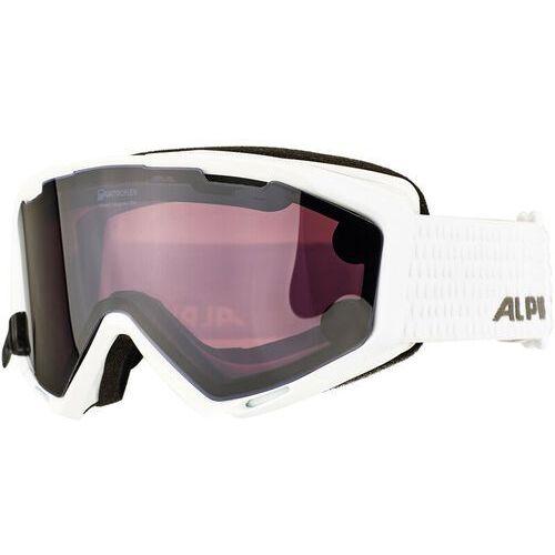 Alpina panoma s magnetic q+s s1+s3 gogle biały/czarny 2017 gogle narciarskie