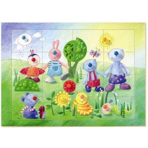 Puzzle - małe zwierzątka marki Haba