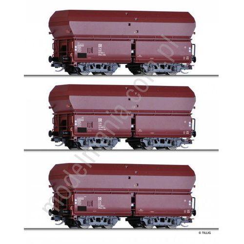 Zestaw 3 wagonów samowyładowczych typ OOtmu Tillig 01737 (4012501017377)