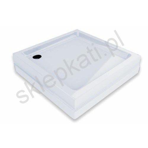 Ravak Angela Basic Kompakt brodzik kwadratowy 80x80cm biały GPX2240135 (8595096885317)
