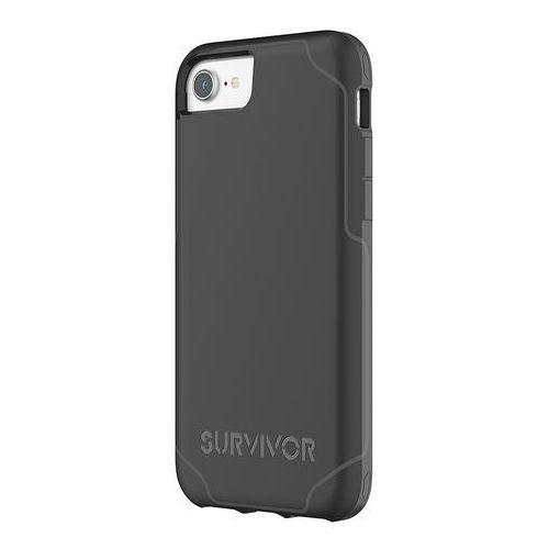 Griffin survivor strong etui obudowa iphone 8 / 7 / 6s / 6 (czarny/szary)