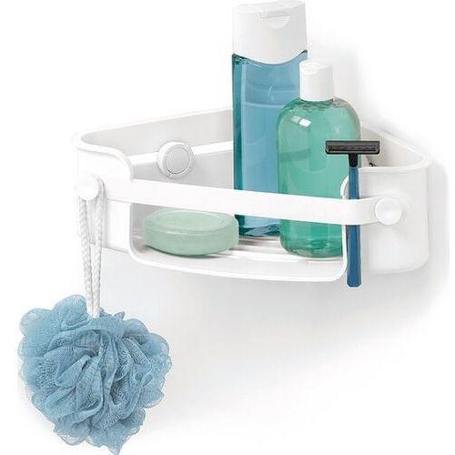 Umbra Półka prysznicowa narożna flex gel-lock biała
