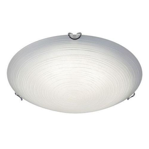 Rabalux Plafon tracy led 3392 lampa sufitowa 1x18w led biały / przezroczysty