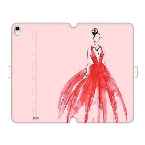 Apple iPad Pro 11 - etui na tablet Wallet Book Fantastic - czerwona suknia