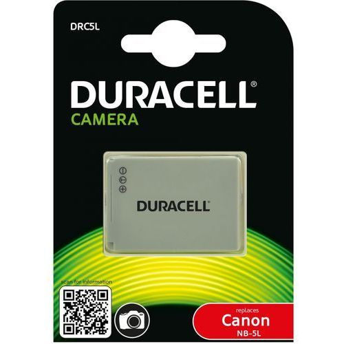 Duracell Akumulator do aparatu 3.7v 820mAh DRC5L - sprawdź w wybranym sklepie