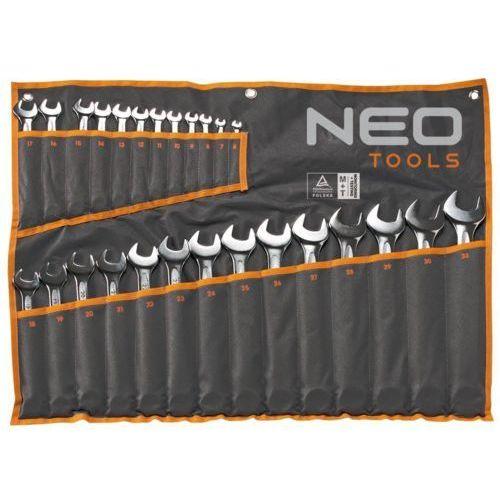 Zestaw kluczy płasko-oczkowych NEO 09-034 6 - 24 mm (19 elementów) + DARMOWY TRANSPORT! ()