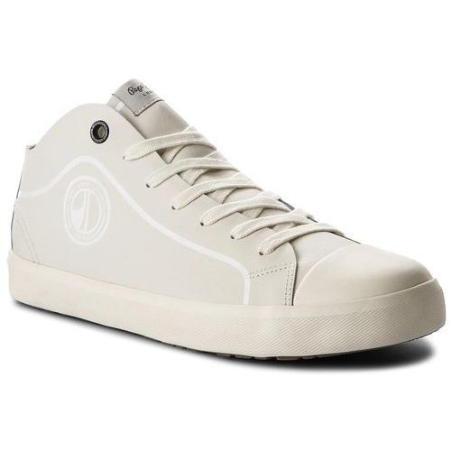 Trampki - industry pro b&w pms30428 factory white 801 marki Pepe jeans