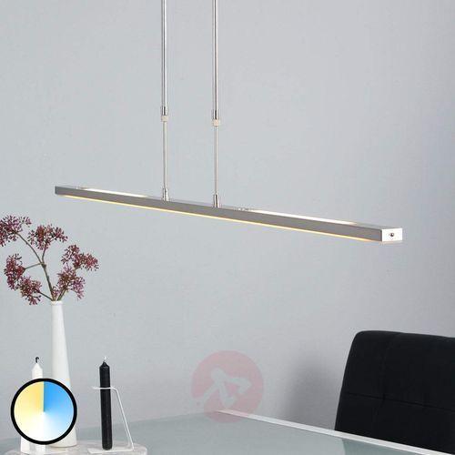 Steinhauer Zelena Lampa Wisząca LED Stal nierdzewna, 3-punktowe - Nowoczesny - Obszar wewnętrzny - Zelena - Czas dostawy: od 6-10 dni roboczych (8712746119817)