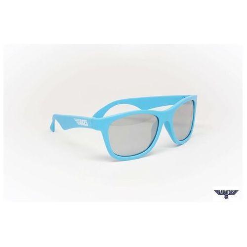 BABIATORS Okulary przeciwsłoneczne dla Dzieci Aces - Electric Blue Mirrored Lenses, 7 - 14 lat z kategorii Okulary przeciwsłoneczne dla dzieci