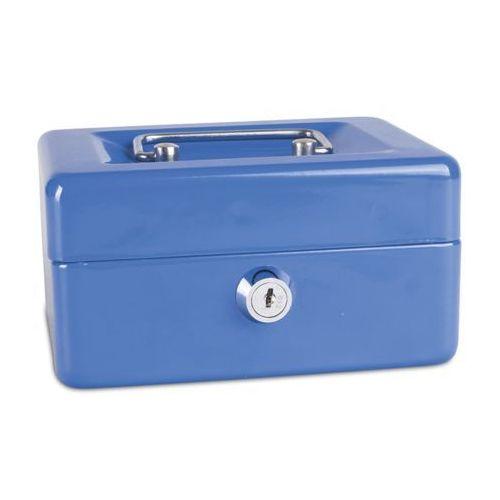 Kasetka na pieniądze DONAU mała - niebieska, 5231001PL-10