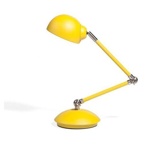 Lampa biurowa nocna regulowana żółta 60 cm HELMAND (4260586353839)