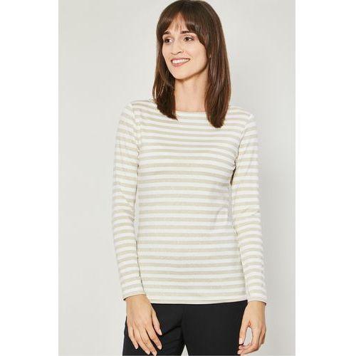 Dzianinowa bluzka w paski claro marki Click fashion