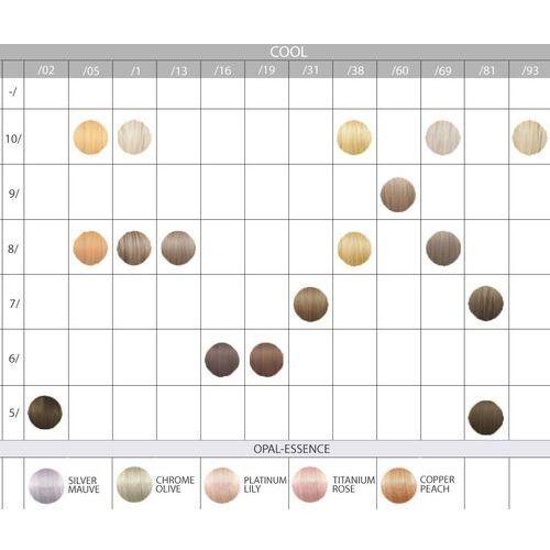 Wella illumina, zestaw do farbowania włosów 60ml + oxydant 60ml 10/ 6 % - 20 vol.