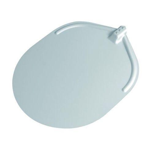 Płaska, owalna, aluminiowa łopata do pizzy bez uchwytu 370x467 mm   FURMIS, LG37