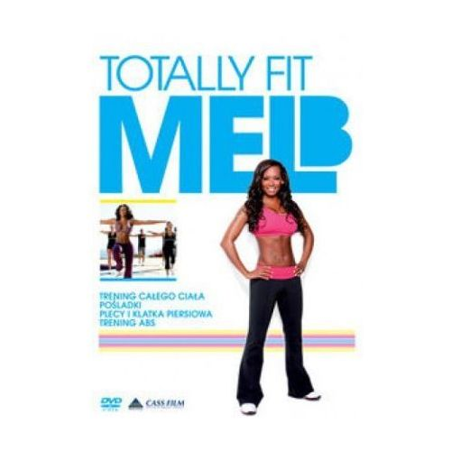 Mel B Totally Fit 2 DVD (niebieska)