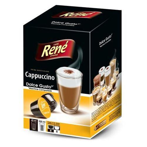 Rene cappuccino kapsułki do dolce gusto – 16 kapsułek marki Nespresso kapsułki