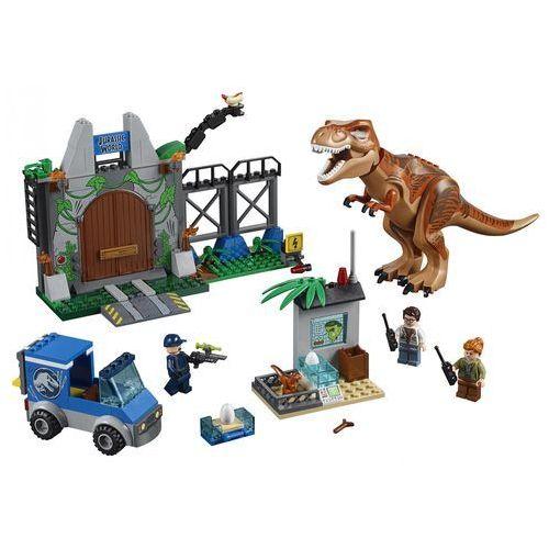 Lego JUNIORS T. rex na wolności t. rex breakout - jurassic world 10758