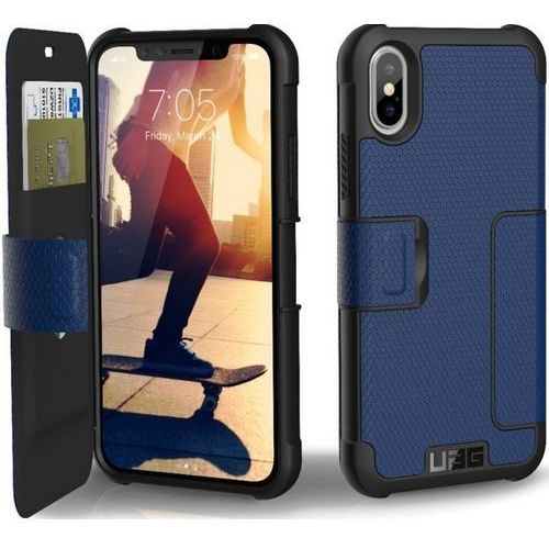 Etui URBAN ARMOR GEAR UAG Metropolis do iPhone X Niebieski, kolor niebieski