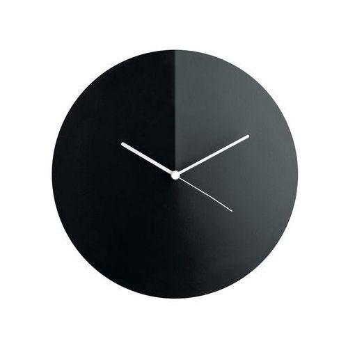 Alessi arris na ścianę zegar czarny