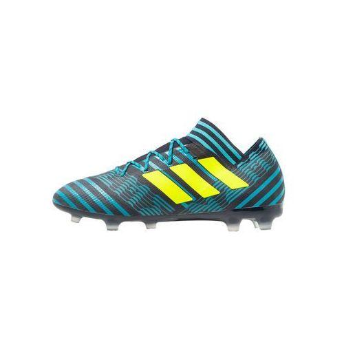 adidas Performance NEMEZIZ 17.2 FG Korki Lanki legend ink/solar yellow/energy blue, BEZ71